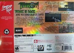 Switch Limited Run Games #43 Turok Classic Edition Toute Nouvelle Usine Scellée