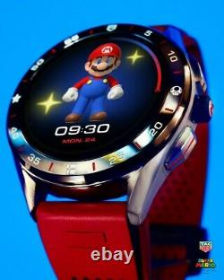 Tag Heuer Super Mario Connected Smart Watch Limited Edition, Brand New In Box