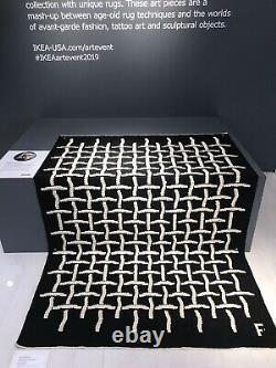 Tapis Ikea Art Event 2019 Filip Pagowski Limited Edition Tapis Flambant Neuf Dans La Boîte