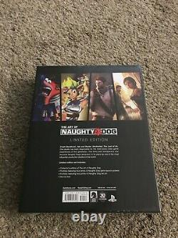 The Art Of Naughty Dog Limited Edition Hardcover (flambant Neuf, Scellé)
