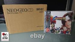 The King Of Fighters'98 Limited Édition Neo Geo CD Japan Flambant Neuf Neuf +