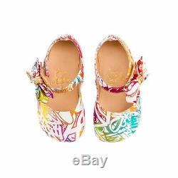 Tout Neuf! Limited Edition Christian Louboutin Chaussures Bébé Wallgraf Multicolor