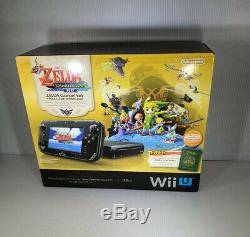 Tout Neuf Nintendo Wii U Legend Zelda System Edition Limitée Console Bundle Etats-unis