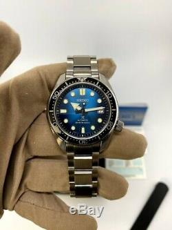 Tout Neuf! Seiko Diver Prospex Spb083j1 / Sbdc065 Great Blue Hole Special Edition