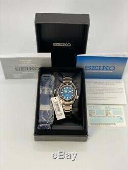 Tout Neuf! Seiko Diver Prospex Spb083j1 / Sbdc065 Great Blue Hole Special Edition