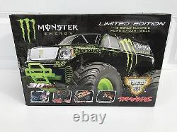 Tout Neuf Traxxas Monster Energy Stampede Limited Edition Rc Truck