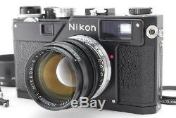 Tout Neuf! Unusednikon S3 2000 Edition Limitée Noire Avec50mm F / 1.4 Du Japon
