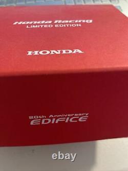 Tout Nouveau Casio Edifice X Honda Racing 20e Anniversaire Montre Homme Bce-10hr-1a