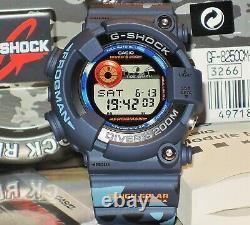 Tout Nouveau Casio G-shock Gf-8250cm-2 Frogman Camouflage Solar Genuine Limited