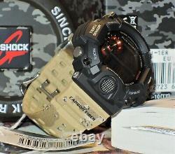 Tout Nouveau Casio G-shock Gw-9400dcj-1 Rangeman Desert Camouflage Solar Limited