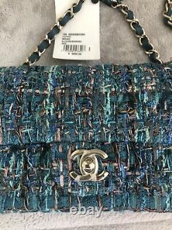Tout Nouveau Chanel Tweed Mini Classic Flap Bag