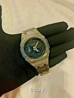 Tout Nouveau Custom Casio G-shock Watch Ga2100 Casioak Ap Royal Oak Freeshipping