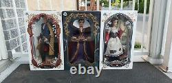 Tout Nouveau Disney Store 17 Édition Limitée Blanche-neige Rags Prince Evil Queen Doll
