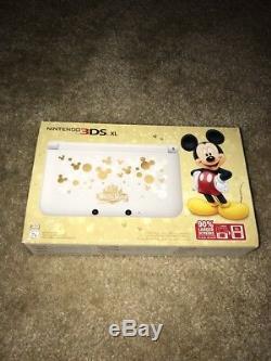 Tout Nouveau Nintendo 3ds XL Disney Magical World Édition Limitée Mickey Mouse