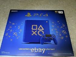 Tout Nouveau Sony Playstation 4 Ps4 1 To Limited Edition Days Of Play Console Bundle