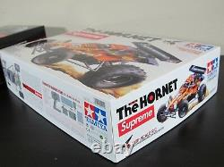 Tout Nouveau Supreme X Tamiya Hornet Rc Car Flames Kit Sold-out- Limited Edition