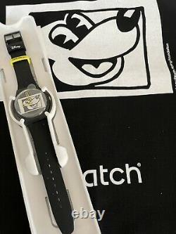 Tout Nouveau Swatch Disney Mickey Mouse X Keith Haring Watch 2021 Ensemble Complet