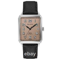 Toute Nouvelle Bulova Homme Breton Limited Edition Blush Dial Swiss Watch 96b331
