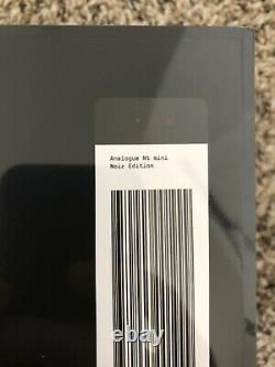 Toute Nouvelle Console Nes Analogique Scellée Nt Mini V2 Noir Limited Edition En Main