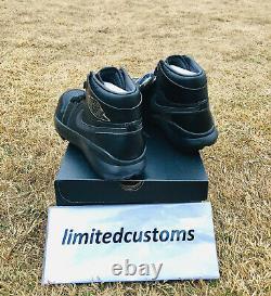 Toute Nouvelle Nike Air Jordan 1 Golf Premium Limited Edition Version Black Aj I