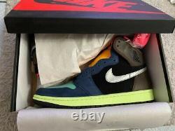 Toute Nouvelle Nike Air Jordan 1 Retro High Og Tokyo Bio Hack 555088-201 Sz. 9.5