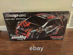 Traxxas Fiesta St Rally Snap-on Limited Edition 4wd Rc Car Snapon Flambant Neuf