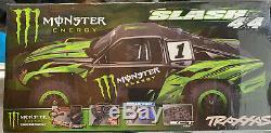 Traxxas Slash 4x4 Monster Energy Édition Limitée Scellé En Usine