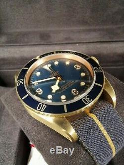 Tudor Black Bay Bronze Bucherer Limited Edition Nouvelle Marque Avec Des Étiquettes