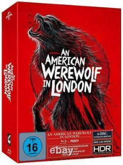 Un Loup-garou Américain À Londres (4k Uhd + Blu-ray) Très Rare Brand New - Sealed
