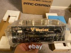 Vestax Pmc 05 Pro Gold Limited Edition Tout Nouveau Dj Scratch Mixer