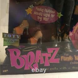 Vintage Bratz 2003 Automne Limited Edition Funk N Glow Jade Flambant Neuf Dans La Boîte