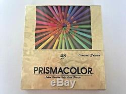 Vintage Prismacolor Limited Edition Crayons De Couleur 48 Couleurs Brand New