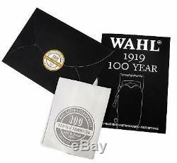 Wahl 100 Ans Anniversaire Tondeuse À Cheveux Sans Fil Édition Limitée 1919 Brand New