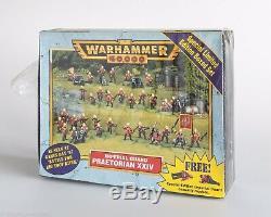 Warhammer De La Garde Impériale Prétorienne XXIV Armée Limited Edition Brand New Poo