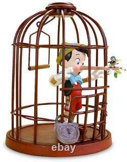 Wdcc Pinocchio Je Never Lie Encore Une Fois Tout Neuf Dans La Boîte Disney Limited Edition F / Sh