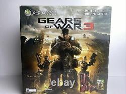 Xbox 360 S Gears Of War 3 Limited Edition 320gb Console Bundle Brand Nouveau