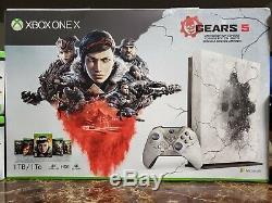Xbox One X Gears Of War 5 Édition Limitée Complète Bundle Toute Nouvelle Marque Jamais Fs
