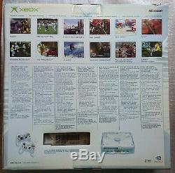 Xbox Original Edition Limitée Cristal Pack Ultra Rare Nouveau Marque