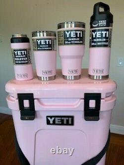 Yeti Roadie 24 Cooler Bundle+ Ice Pink Edition Limitée Épuisé Neuf