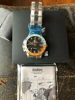 Zodiac Aerospace Golfe Gmt Limited Edition 182 A Neuf